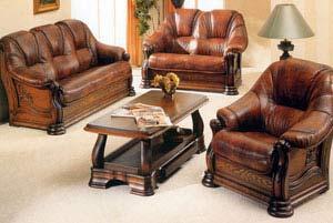 кожаная мебель из европы новая и бу купить недорого