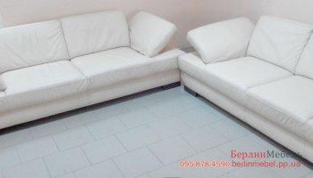 Набор кожаных диванов
