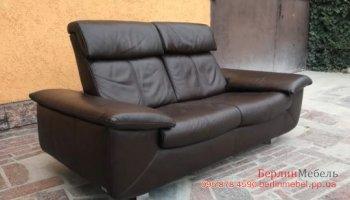 Кожаный диван  реклайнер BEGANA