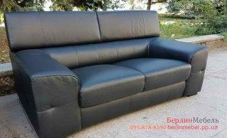 Кожаный двухместный диванчик