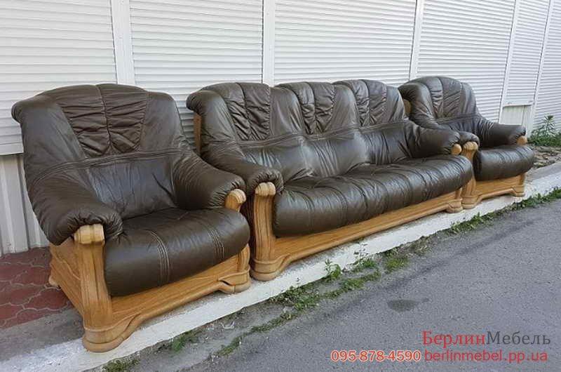 комплект кожаной мебели 311