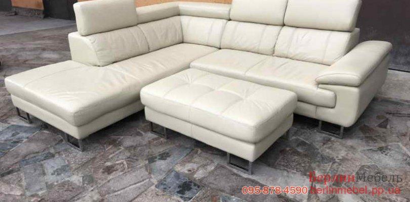 купить кожаный угловой диван хай тек бу одесса