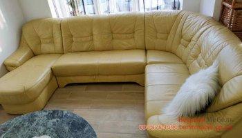 П-образный раскладной диван