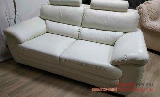 Двухместный кожаный диван