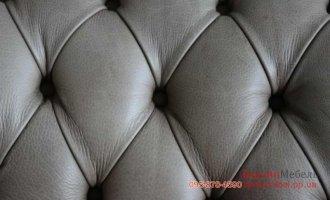 Комплект кожаной мебели Chesterfield