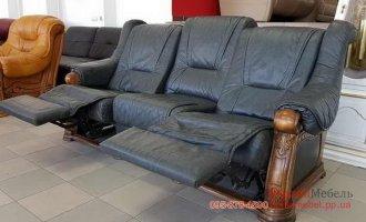 Кожаный комплект мебели 3р+2