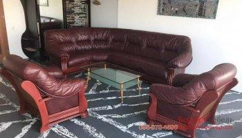 Набор угловой диван + 2 кресла