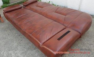 Раскладной кожаный набор 3+1+1
