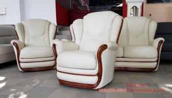Кожаная мягкая мебель 1+1