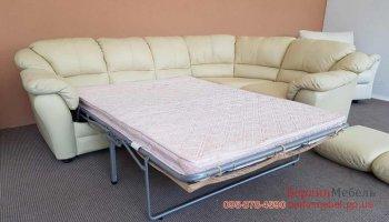 Угловой диван с местом для сна