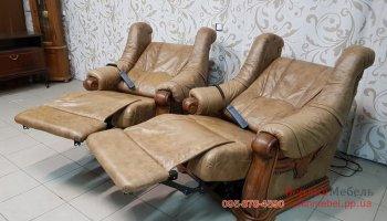 Кожаные кресла электро реклайнер