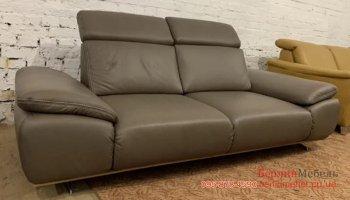 Новый кожаный диван релакс