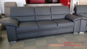 Новый кожаный мягкий диван