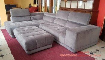 Угловой диван релакс + пуф
