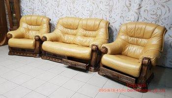 Комплект кожаной мебели 2+1+1