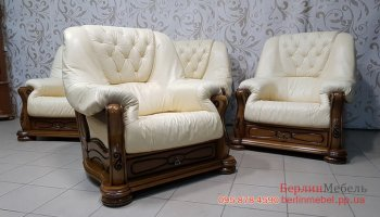 Кожаное кресло