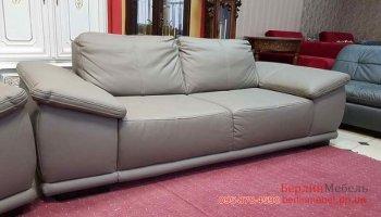Новый мягкий кожаный диван