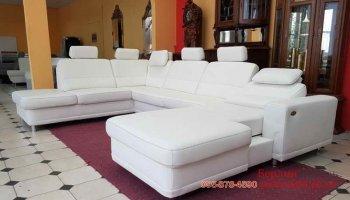 Большой п-образный диван