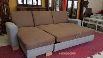 Модный угловой раскладной диван ZEHDENICK