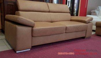 Кожаный диван-реклайнер