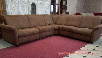 Угловой диван рейкланер