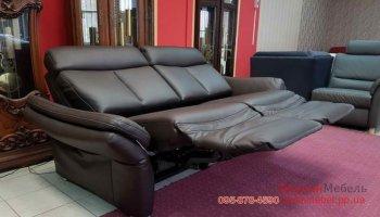 Кожаный диван GLOBAL WOHNEN