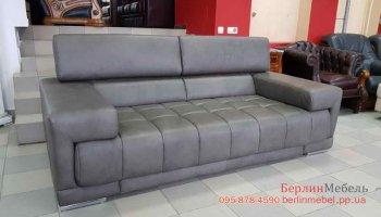 кожаный диван с регулируемыми подголовниками