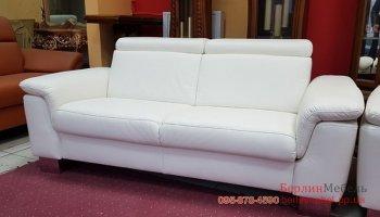 Новый кожаный диван Хай-Тек