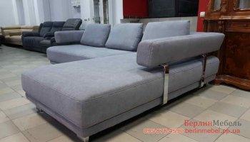 Угловой диван из ткани Hukla