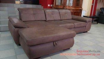 Кожаный угловой диван MEGAPOL