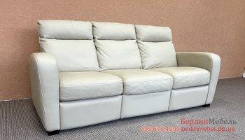 Кожаный мягкий диван Italsofa реклайнер