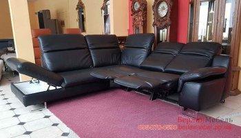 Угловой диван реклайнер