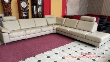Новый кожаный угловой диван Mondo