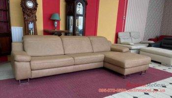 Кожаный угловой диван HUKLA