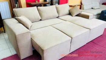 Стильный раскладной угловой диван