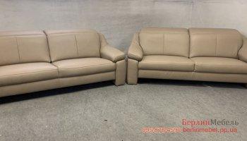 Комплект кожаных диванов Hukla