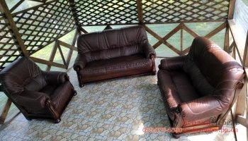 Комплект мебели на дубовом каркасе 3+2+1