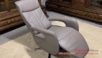 Кожаное кресло реклайнер