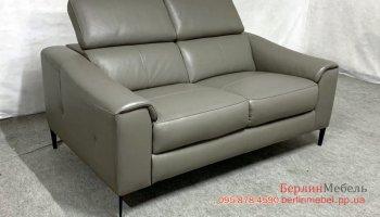 Кожаный двухместный диван Kuka