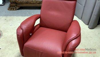 Кресло кожаное реклайнер
