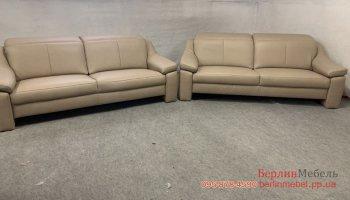Набор кожаных диванов 3+3