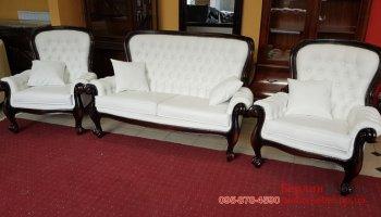 Комплект мебели в стиле барокко 2+1+1
